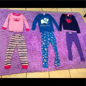 Girls Mix & Match Pajamas All For One Price